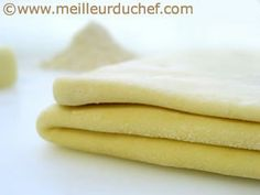 """Pâte feuilletée """"pur beurre"""" Fondue, Sweet, Butter, Kitchens, Bread And Pastries, Home Made, Recipes, Candy"""