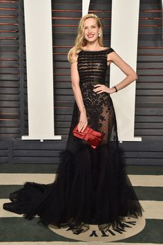 Petra Nemcova in Georges Chakra Couture at the 2016 Vanity Fair Oscar party. Diane Kruger, Kate Bosworth, Oscar Dresses, Event Dresses, Celebrity Red Carpet, Celebrity Style, Vestido Strapless, Chanel Iman, Red Carpet Gowns