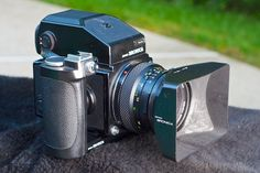 Zenza Bronica ETRS with AE Finder