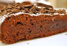 Francuskie ciasto czekoladowe   170 st. 45 min.