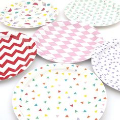 Peach Blossom - Paper Plates, £6.00 (http://www.peachblossom.co.uk/paper-plates/)