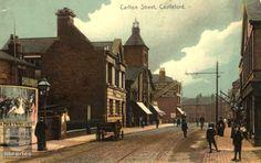 Carlton Street, Castleford Wakefield, West Yorkshire, Family History, Street, City, Image, Beautiful, Cities, Walkway