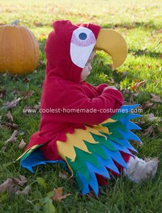 Parrot Costumes 1