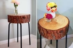 11 Gorgeous DIY Side Tables You Can Totally Make | Brit + Co