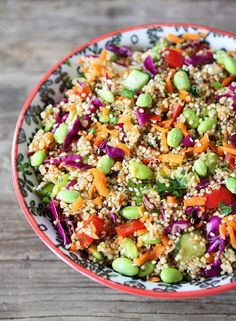 (Vietnamese) Asian Quinoa Salad