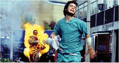 What's worse than a zombie chasing you? A zombie on fire chasing you.