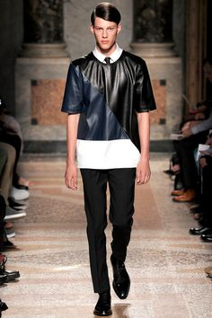Les Hommes | Spring 2014 Menswear Collection | Style.com