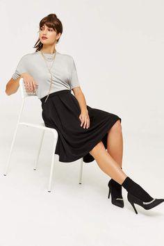 fe9e441ea85 Ardene Boxy Moire Tee - Clothing
