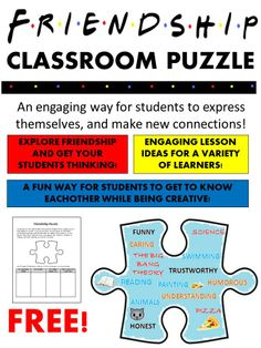 This FREE resource gives students an opportunity to share information about themselves in hopes of making connections with others in the classroom.