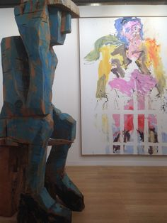 Georg Baselitz - 'Volk ding Zero' and 'Neunzehnhundertfünfundsechzig' - Galerie Thaddaeus Ropac