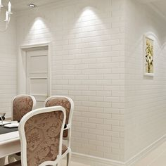 Off White Modern Design Brick Wallpaper Roll Vinyl Wall Covering Wall Paper For Living Room Dinning Room Store Background(China (Mainland)) Cheap Wallpaper, Modern Wallpaper, Vinyl Wallpaper, Beautiful Wallpaper, Kitchen Wallpaper, Bedroom Wallpaper, White Brick Wallpaper, Brick Effect Wallpaper, Stone Wallpaper