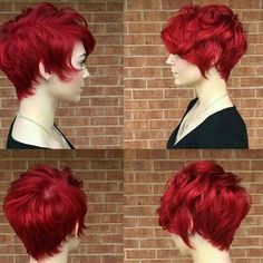 Pixie Red Hair