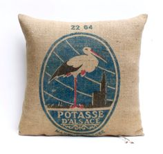 Antique Genuine French Farmhouse Grain Sack by Retrocollects £50 https://www.etsy.com/shop/Retrocollects