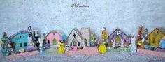 Putz Easter Village