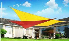 Kookaburra Sail Shade Sun Canopy Patio Awning Garden 98% UV & Waterproof Outdoor