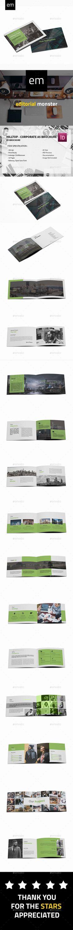 Hilltop - Corporate A5 Brochure