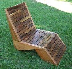"""Thanks philmillster for this post.Are you tired of the same old boring deck chairs? Have you ever asked yourself, .Are you tired of the same old boring deck chairs? Have you ever asked yourself, """"if I were a chair, what would I look like?"""" # asked Lawn Chairs, Old Chairs, Outdoor Chairs, Adirondack Chairs, Dining Chairs, Folding Chairs, White Chairs, Outdoor Lounge, Outdoor Seating"""