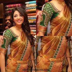 Amala Paul in Kancheepuram Silk Saree ~ She and Fashion