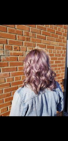The prettiest purple🌌  #BlondeMe #BlondeMeToners #Schwarzkopf #yeghair