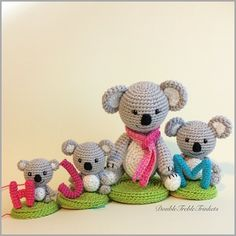 #workinprogress #family  #koala by doubletrebletrinkets