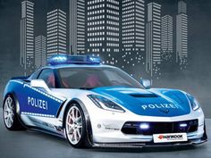 Germany's new police car