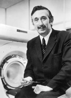 Sir Godfrey Hounsfield. Born in Nottinghamshire, attended Magnus Grammar School. Curious from an early age to a point where he launched himself off of haystacks in a home-made glider. Survived to invent the CT Scanner and collect the Nobel Prize in Physiology or Medicine in 1979.