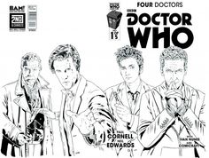 Four Doctors #1 (Books-A-Million Variant A by Joe Corroney).