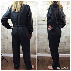 Vtg Saint Germain Paris Womens Jumpsuit 11/12 French 48 Jumper Romper Coveralls #SaintGermain