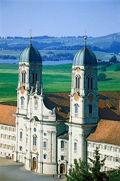 Kloster Einsiedeln/Einsiedeln Abbey, Canton of Schwyz, Switzerland Places To Travel, Places To See, Visit Switzerland, Switzerland Destinations, Canton, Europe, Swiss Alps, Place Of Worship, Beautiful Places To Visit