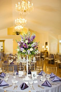 Pretty Purple Historic Home Wedding Wedding Real Weddings Photos on WeddingWire