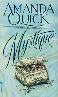 Mystique by Amanda Quick - a must read! Book Club Books, Book Lists, Good Books, My Books, Book Series, Romance Art, Romance Books, Amanda Quick Books, Historical Romance Novels