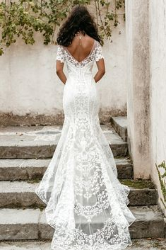 Untamed Heart | The Brand New Wedding Dress Collection from Lovers Society Pink Wedding Dresses, Wedding Gowns, Fire Heart, Drop Waist, Dress Collection, Ball Gowns, Bell Sleeves, Backless, Lovers