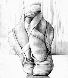 Ballet Art Print by andreasderebucha Kunst Illustration Druck Surreal Abstr Ballerina Kunst, Ballerina Drawing, Ballet Drawings, Dancing Drawings, Cool Art Drawings, Pencil Art Drawings, Art Drawings Sketches, Drawing Ideas, Tumblr Art Drawings
