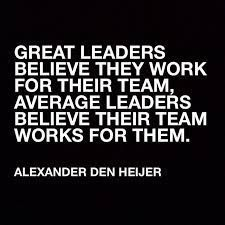 Words to live by! #leaders #nurseleader #leadership
