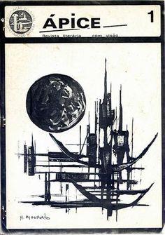 Revista de 1986 associada ao movimento musical alternativo da Negra Troop e das fotografias de João Löbe