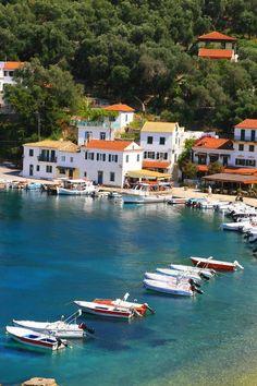 Paxos Adası, Yunanistan.