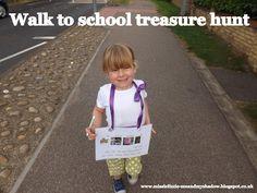Walk to School Treasure Hunt - Walk to School Week
