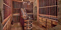 Prestige Series wine cellar racks are the best wine rack kits for building a wine cellar or room. Highest quality wooden wine racks handmade in America. Wine Cellar Basement, Wine Cellar Racks, Wood Wine Racks, Wine Rack Wall, Corner Wine Rack, Home Wine Cellars, Wine Rack Storage, Natural Stone Wall, Wine Cellar Design