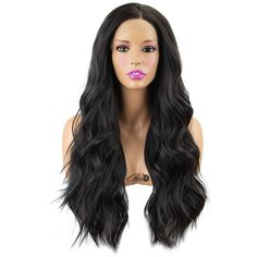 Heat safe synthetic Lace Front wig long density Made of soft synthetic fiber Can be styled with hot […] Hair Lights, Light Hair, Synthetic Lace Front Wigs, Synthetic Wigs, Powder Room D, How To Apply Concealer, Aesthetic Hair, One Hair, Dry Shampoo
