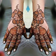 Henna Flower Designs, Latest Arabic Mehndi Designs, Basic Mehndi Designs, Back Hand Mehndi Designs, Latest Bridal Mehndi Designs, Stylish Mehndi Designs, Mehndi Designs For Beginners, Mehndi Design Photos, Mehndi Designs For Fingers