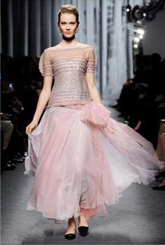 chanel, collection haute couture printemps-été 2011