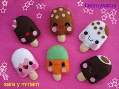 felt icecream is creative inspiration for us. Get more photo about diy home decor related with by looking at photos gallery at the bottom of this page. We are want to say thanks if you like to share this post to another people via your facebook, pinterest, google plus or …