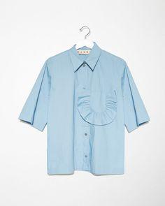 MARNI | Ruffle Detail Shirt | Shop at La Garçonne