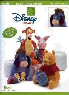 Free Crochet Book Winnie the Pooh & Friends - Eili Einama - Picasa Web Albums