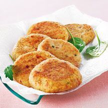 WeightWatchers.fr : recette Weight Watchers - Croquette de jambon aux herbes