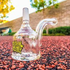 OG GLASS - MINI SHERLOCK BUBBLER This cool mini dab rig from @originalglassproducts is for sale on our online smoke shop! KINGS-PIPE.COM #KINGsPipe