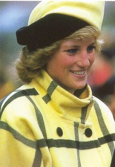 Princess Diana, December 1988 in Philip Sommerville