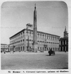 Piazza San Giovanni in Laterano 1870