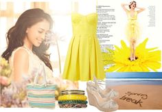 """""""It was All Yellow"""" by flamewave ❤ liked on Polyvore"""