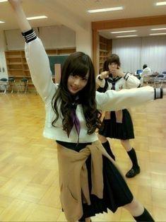 乃木坂46 (nogizaka46) Shiraishi Mai (白石 麻衣) and Matsumura Sayuri (松村 沙友理) ~ LoL so dorky >o< ♥ ♥ ♥ ♥